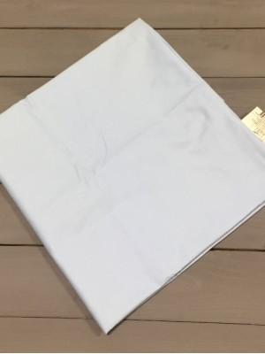 Голубая наволочка ткань сатин 2шт.-50х70