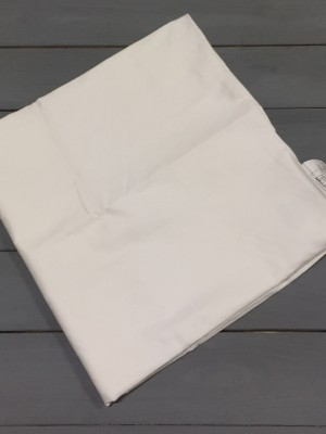 Белая наволочка ткань сатин 2шт.-70х70