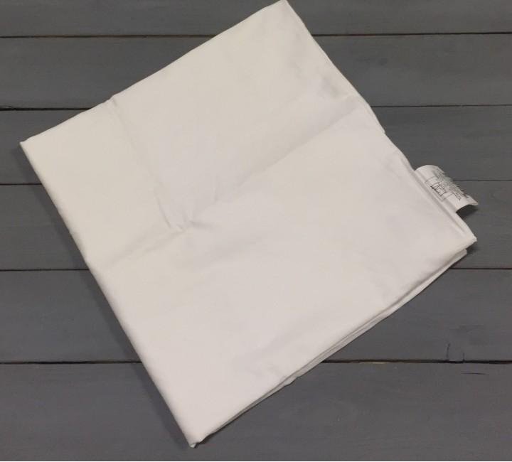 Бежевая наволочка ткань сатин 2шт.-70х70