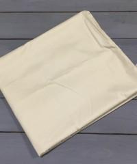 Кремовая наволочка ткань сатин 2шт.-50х70