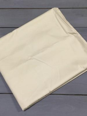 Кремовая наволочка ткань сатин 2шт.-70х70