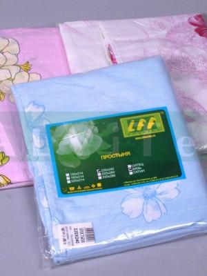 Простынь 220х214 ткань хлопок