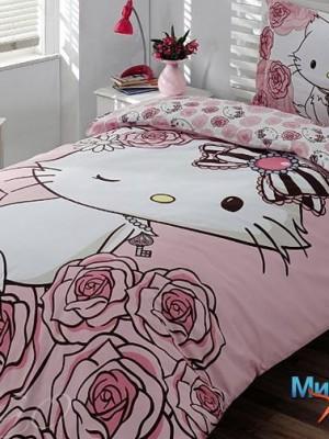 Розовый котёнок